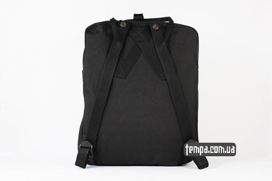 купить в Украине черный рюкзак kanken FJALL RAVEN