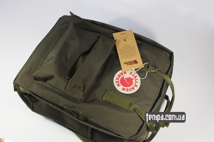 лиса лисица рюкзак kanken FJALL RAVEN хаки купить оригинал
