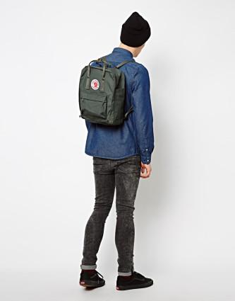 молодежный рюкзак kanken мужской женский