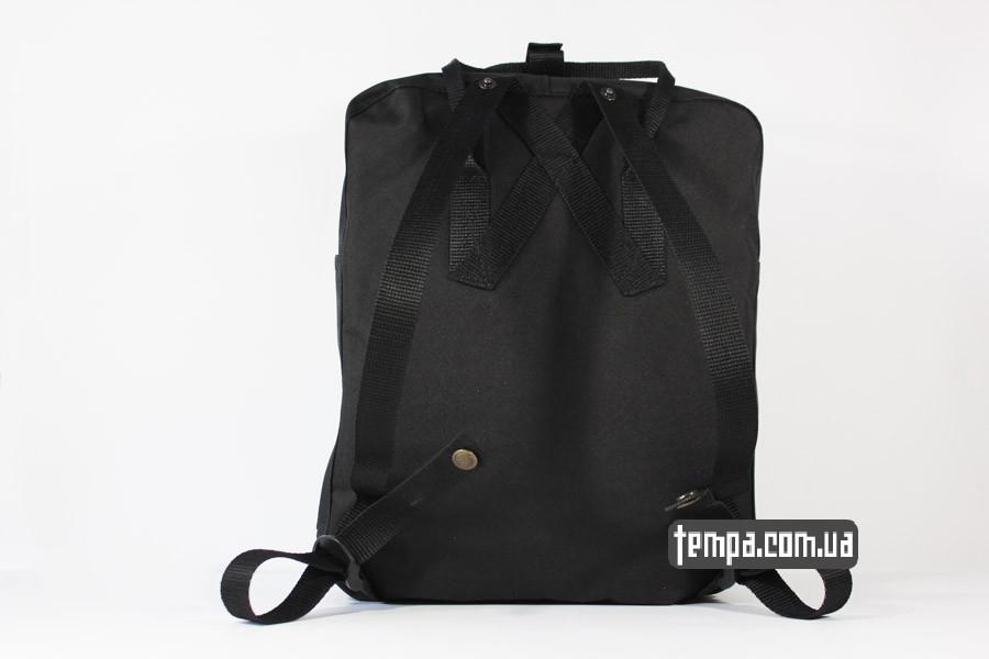 нейлоновый черный рюкзак kanken FJALL RAVEN