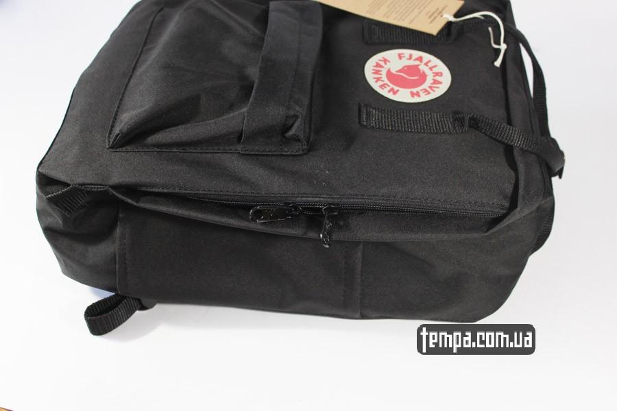 оригинал канкен черный рюкзак kanken FJALL RAVEN