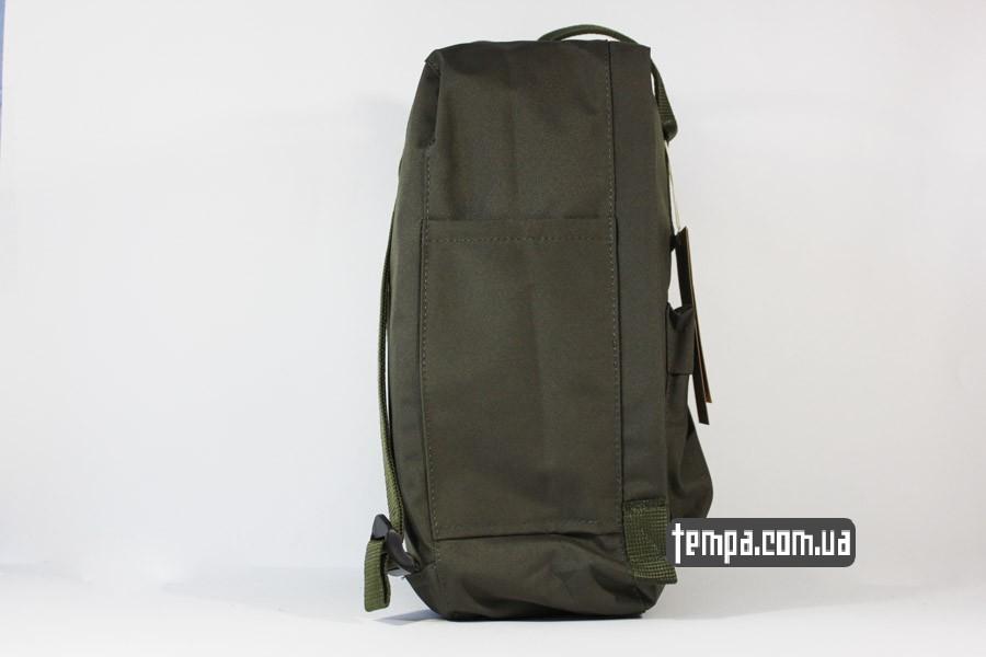 темнозеленый рюкзак рюкзак kanken FJALL RAVEN хаки