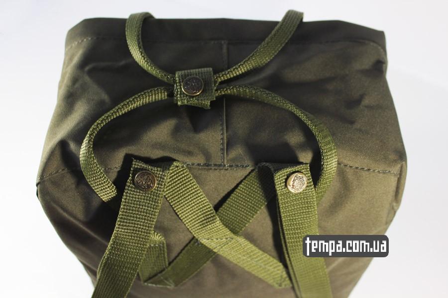 женский рюкзак kanken FJALL RAVEN хаки оригинал украина заказать
