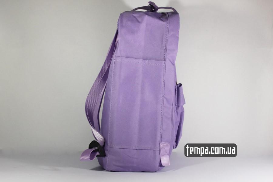 backback сиреневый рюкзак FJALLRAVEN Kanken классик