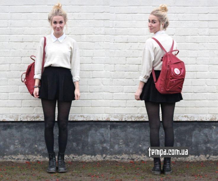 канкен красный женский рюкзак купить в Украине