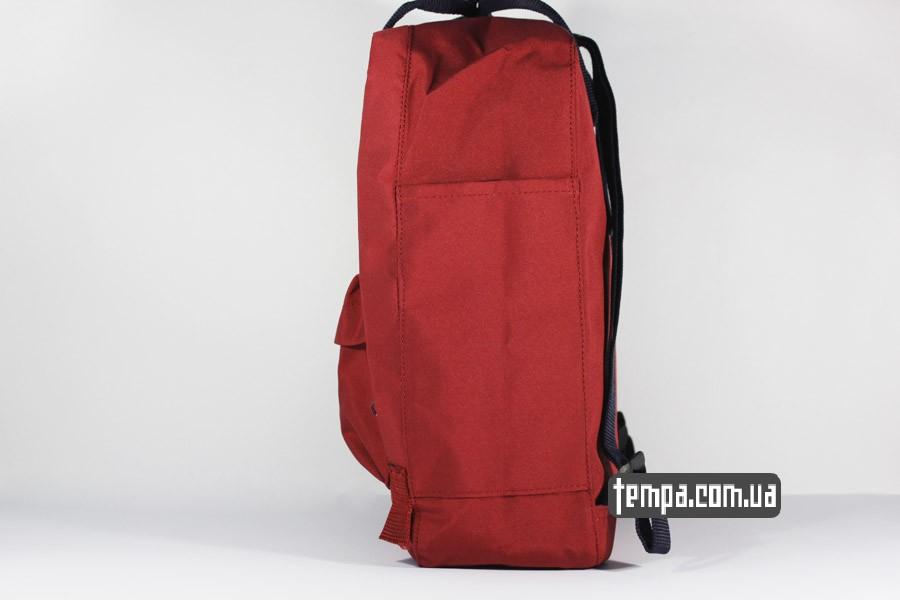 канкен купить украина оригинал красный бордовый рюкзак FJALLRAVEN Kanken