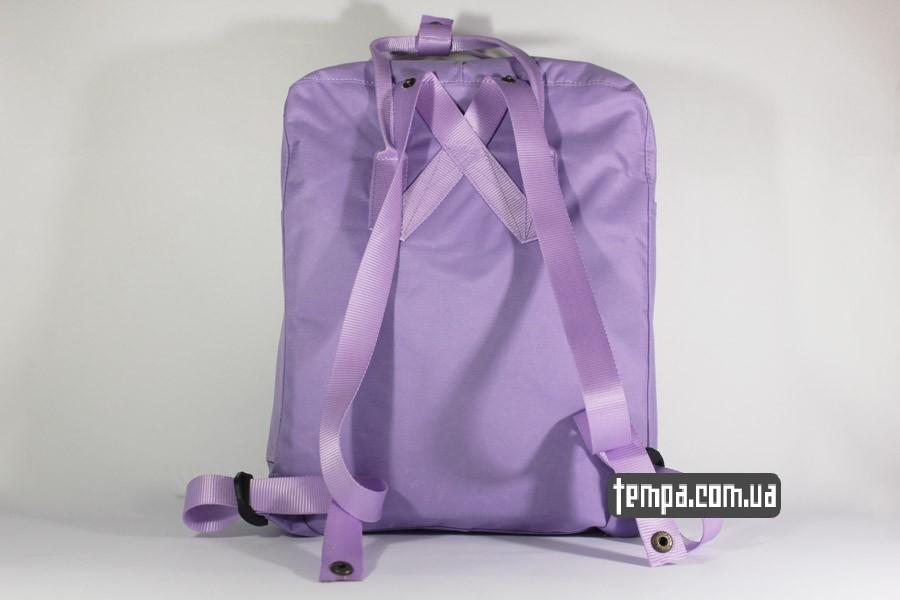 купить оригинал рюкзак сиреневый рюкзак FJALLRAVEN Kanken классик