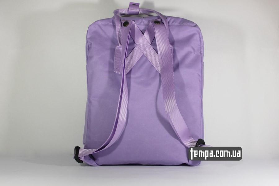 купить женский сиреневый рюкзак FJALLRAVEN Kanken классик