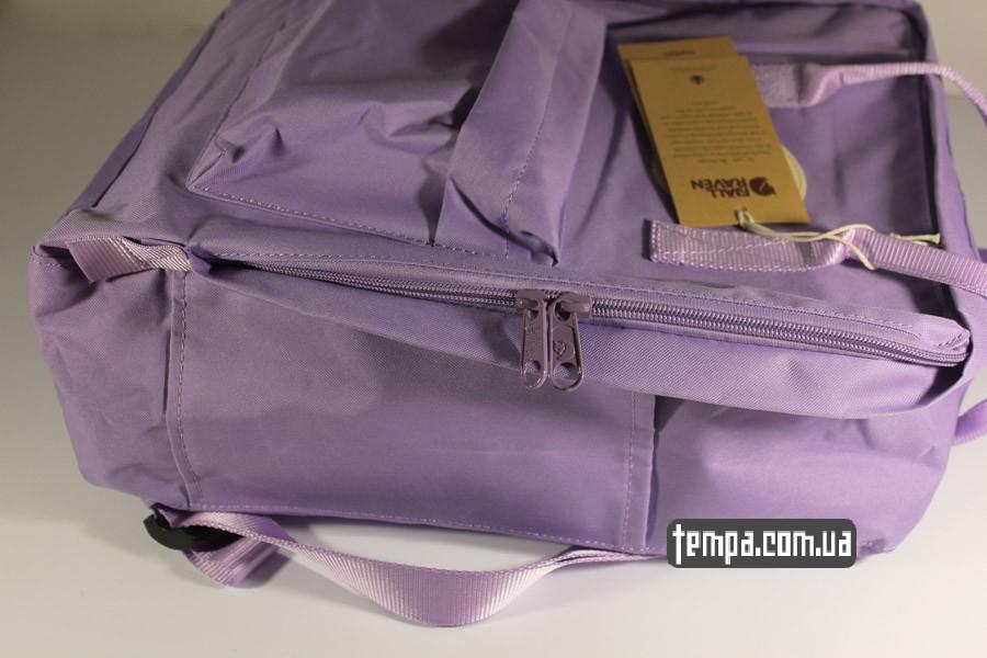 мужской сиреневый рюкзак FJALLRAVEN Kanken классик