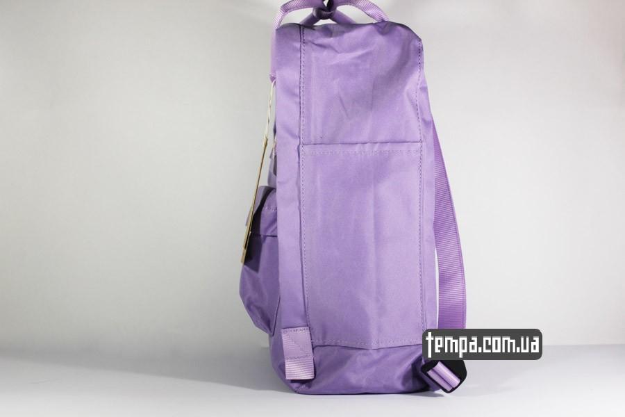 оригинал канкен сиреневый рюкзак FJALLRAVEN Kanken классик