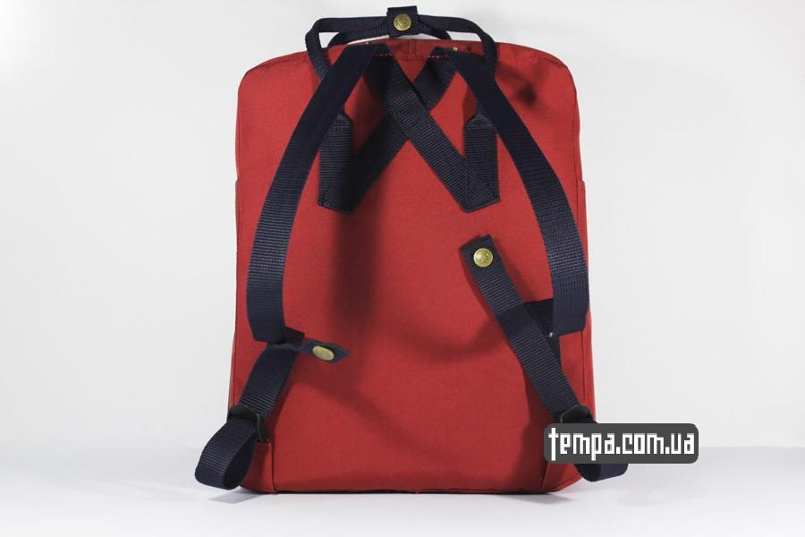 украина магазин красный бордовый рюкзак FJALLRAVEN Kanken