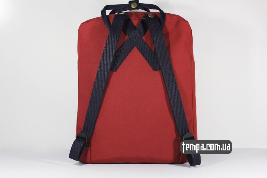 украина оригинал канкен красный бордовый рюкзак FJALLRAVEN Kanken