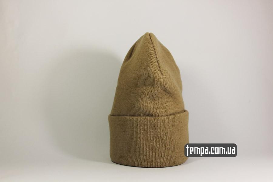 кархарт украина шапка beanie carhartt коричневая оригинал