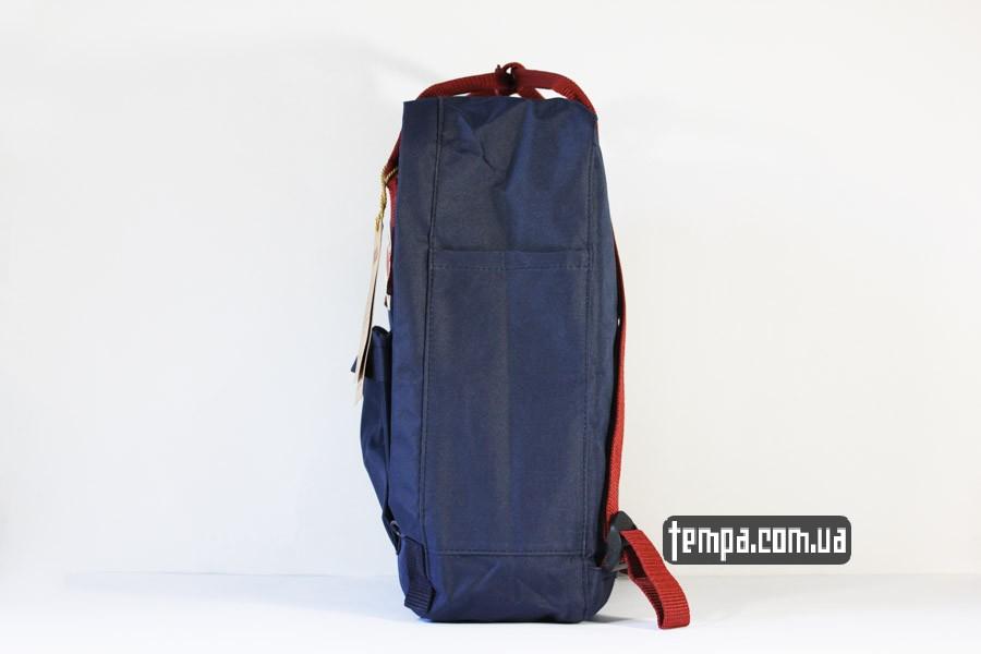 рюкзак fjallraven KANKEN синий украина купить красные ручки