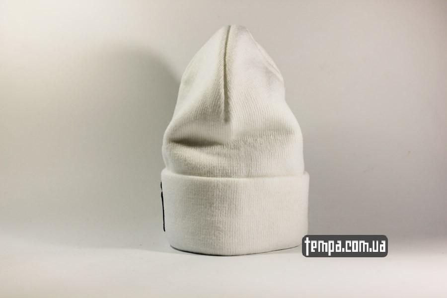 теплая шапка beanie NEW YORK NY Yankees New Era белая