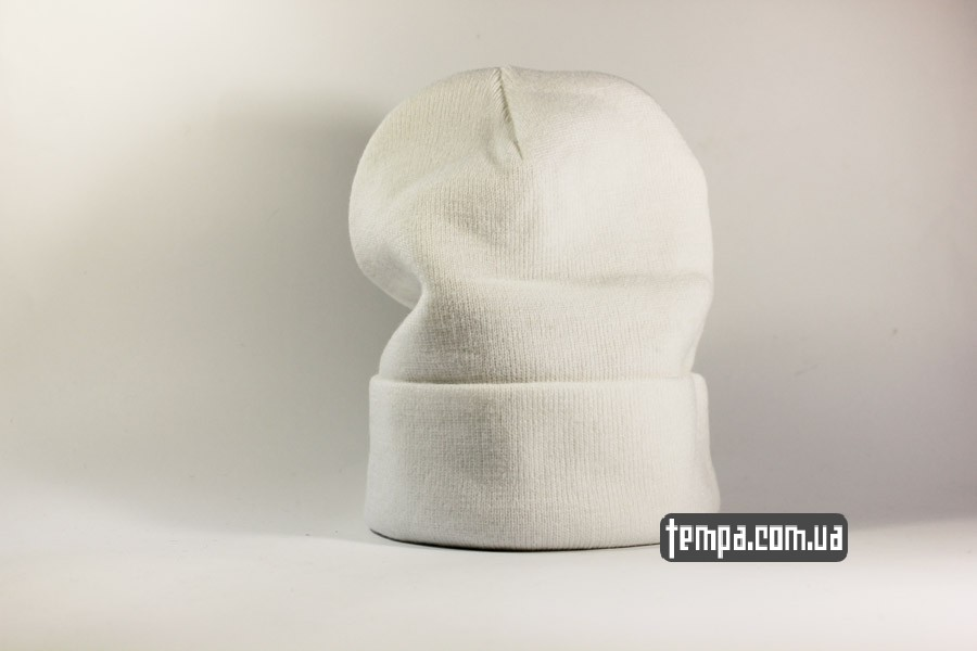 зимняя шапка beanie NEW YORK NY Yankees New Era белая