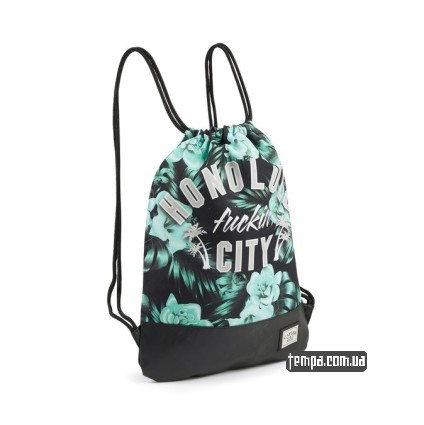accessori cayler e sons honolulu gym bag mint black white