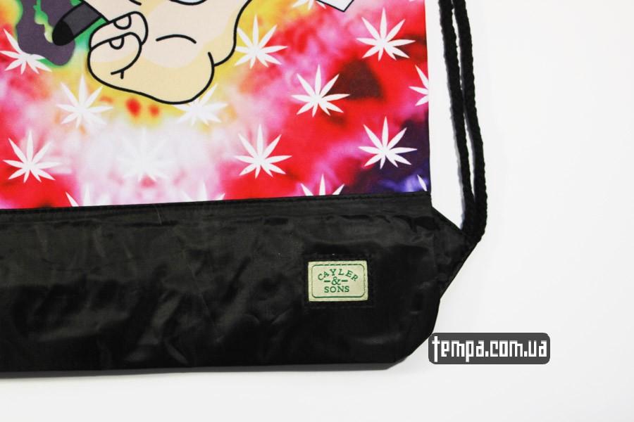 конопля сумка мешок cayler sons wake n bake хиппи рюкзак