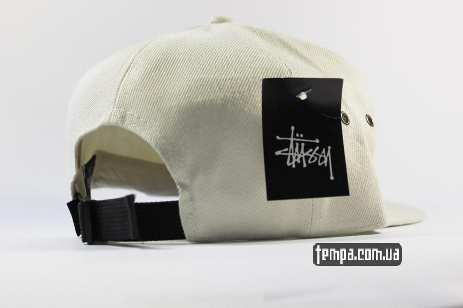 одежда стасси stussy бейсболка кепка снепбек белая оригинал
