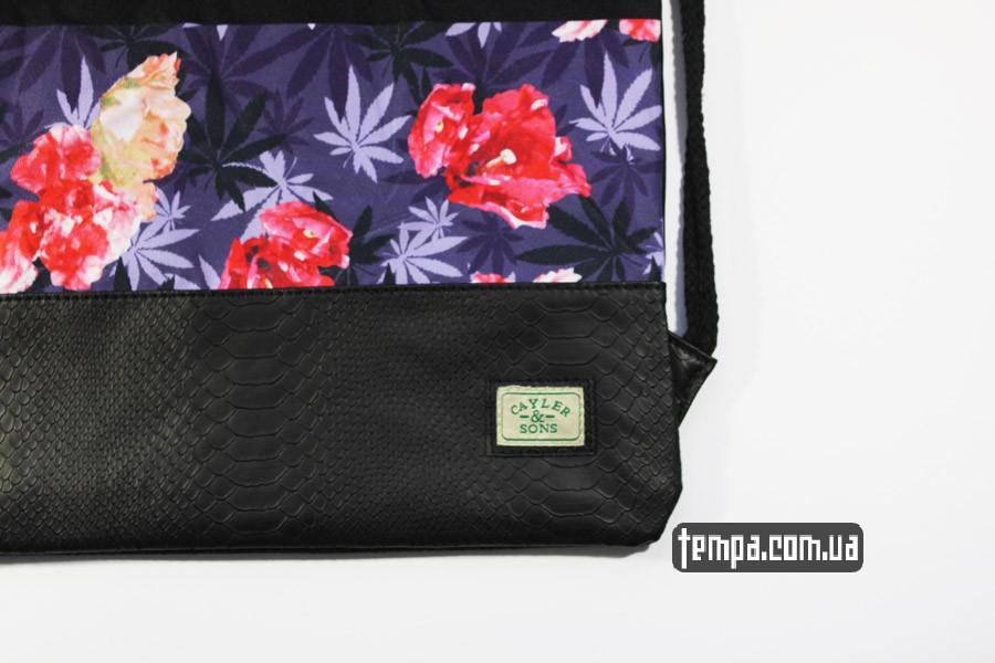 оригальные рюкзаки сумка мешок cayler and sons amsterdam blazin city с цветами