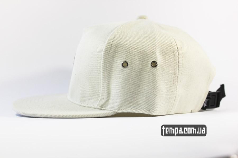 оригинал украина stussy бейсболка кепка снепбек белая оригинал