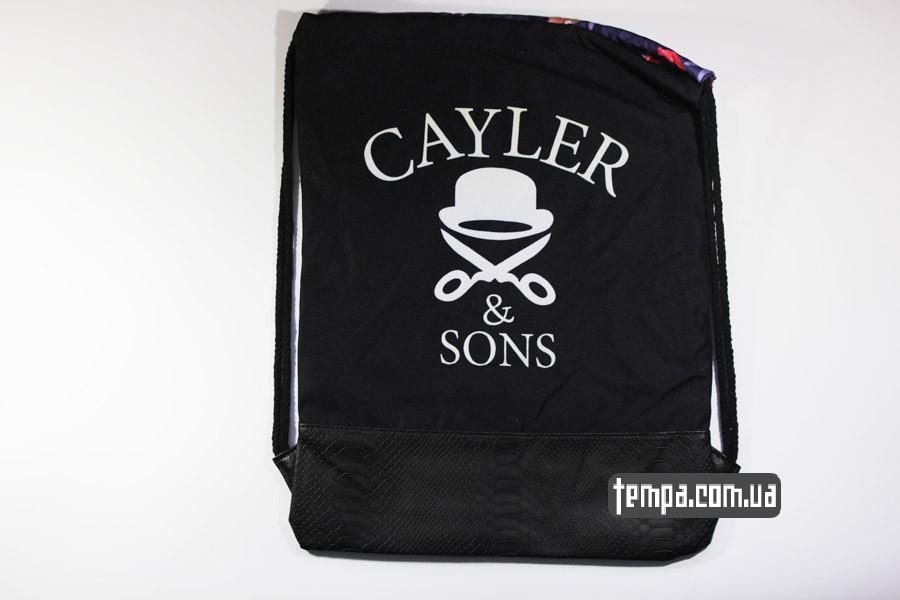 оригинальная сумка мешок cayler and sons amsterdam blazin city с цветами
