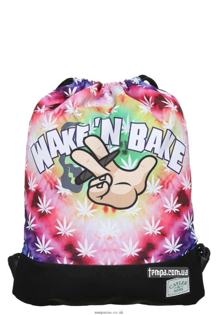 сумка рюкзак спортивная cayler sons wake bake