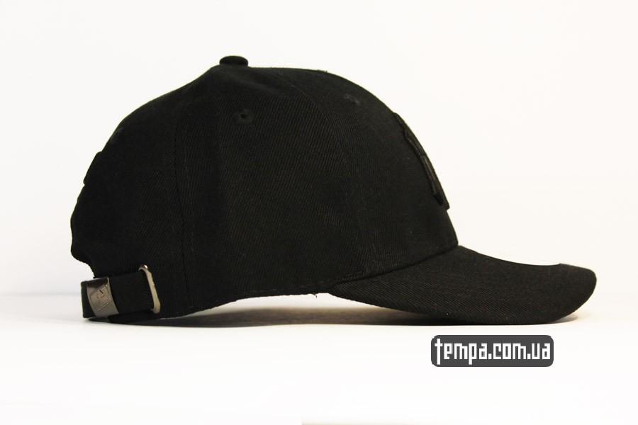 бейсбокла амерсканская кепка круглый козырек янки нью йорк черная NEW ERA NY YANKEES