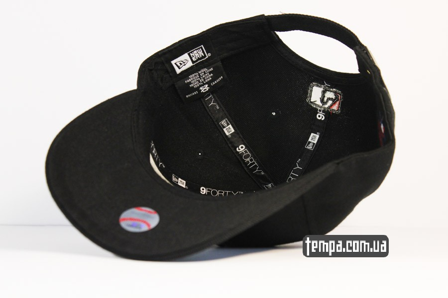 купить закать кепка круглый козырек янки нью йорк черная NEW ERA NY YANKEES
