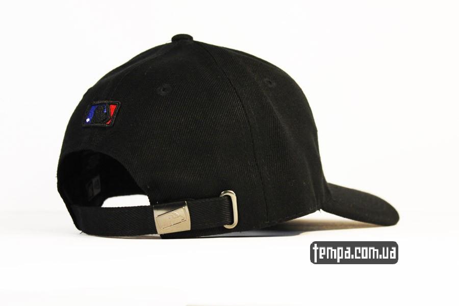 янки бейсболки кепка круглый козырек янки нью йорк черная NEW ERA NY YANKEES