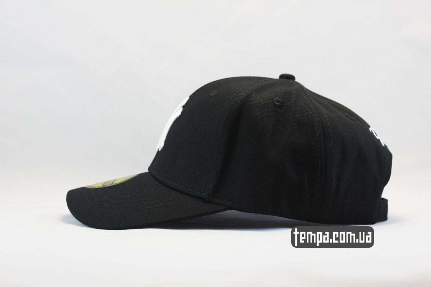 закругленный козырек кепка бейсболка YANKEES New York New Era черная