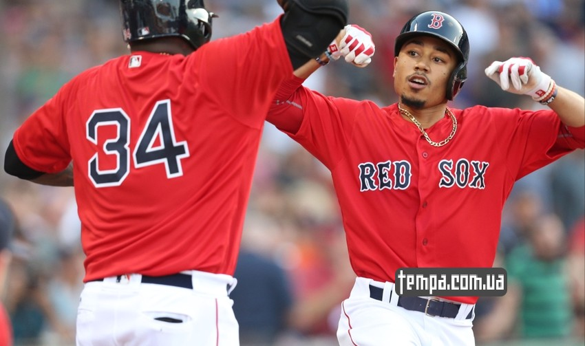Кепка бейсболка Boston red socks