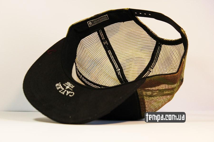 реперская кепка tracker с сеточкой HUNTED охотнячая военная