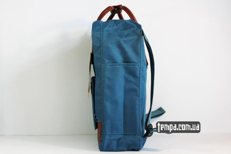 чемодан школьный рюкзак kankan no 2 backpack fjallraven кожаный голубой