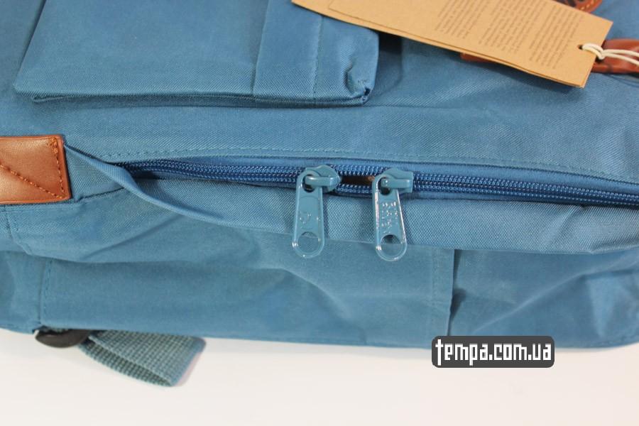 где купить оригинальный рюкзак kankan no 2 backpack fjallraven кожаный голубой