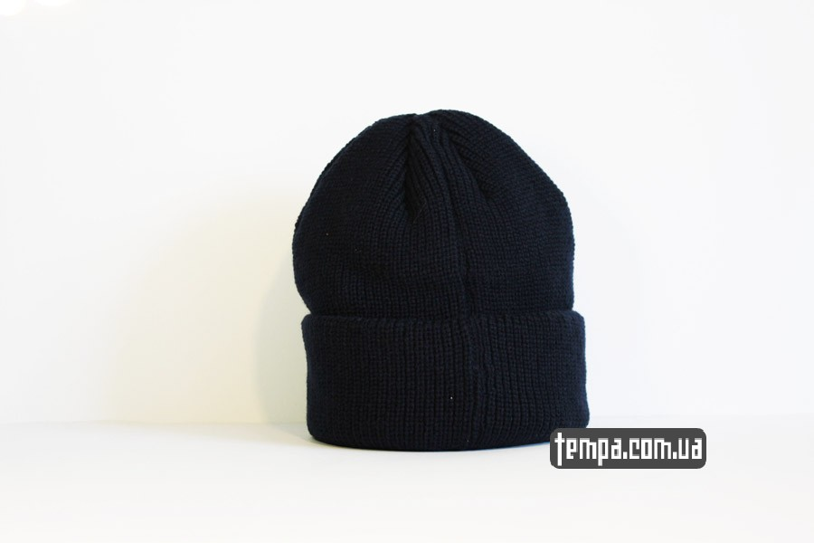 где купить оригинал шапка beanie DC USA синяя бини купить