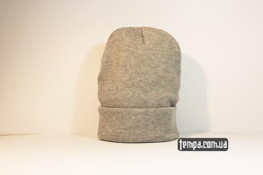 хайповая одежда бини шапка beanie puma пума серая бини Украина купить