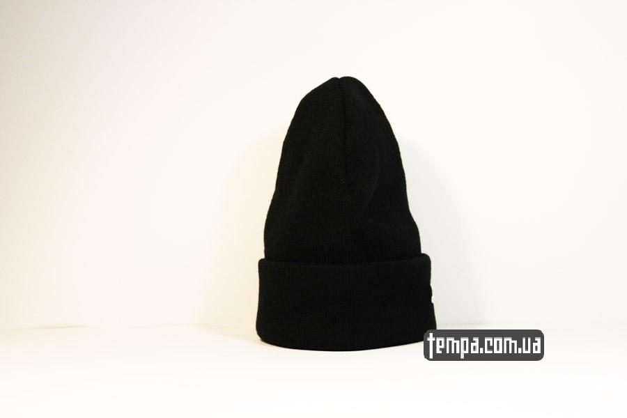шапка beanie puma пума оджда черная купить украина с доставкой