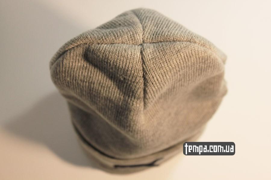 спортивная одежда магазин шапка beanie puma пума серая бини Украина купить