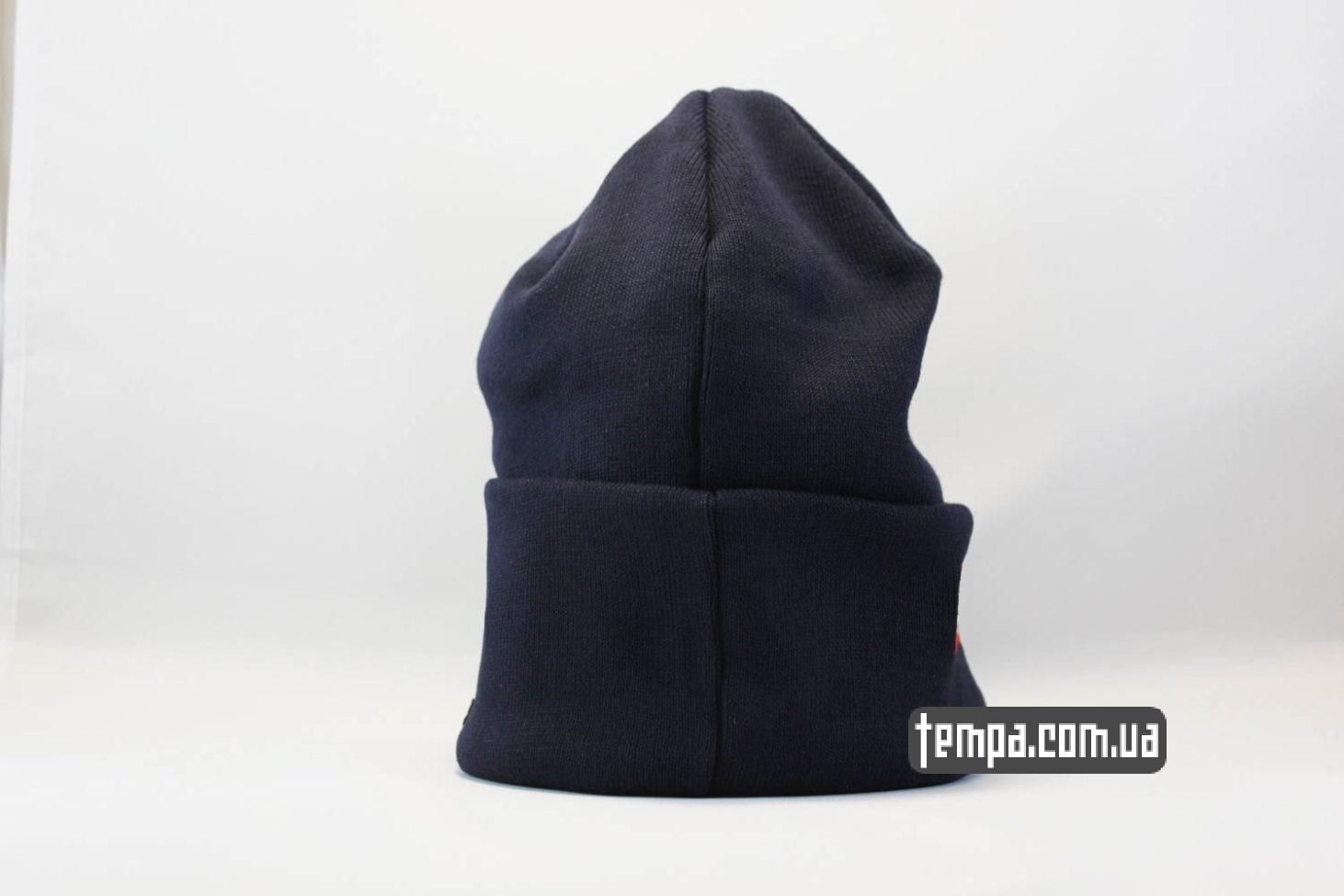 supreme Украина магазин шапка beanie SUPREME New Era blue голубая оригинал