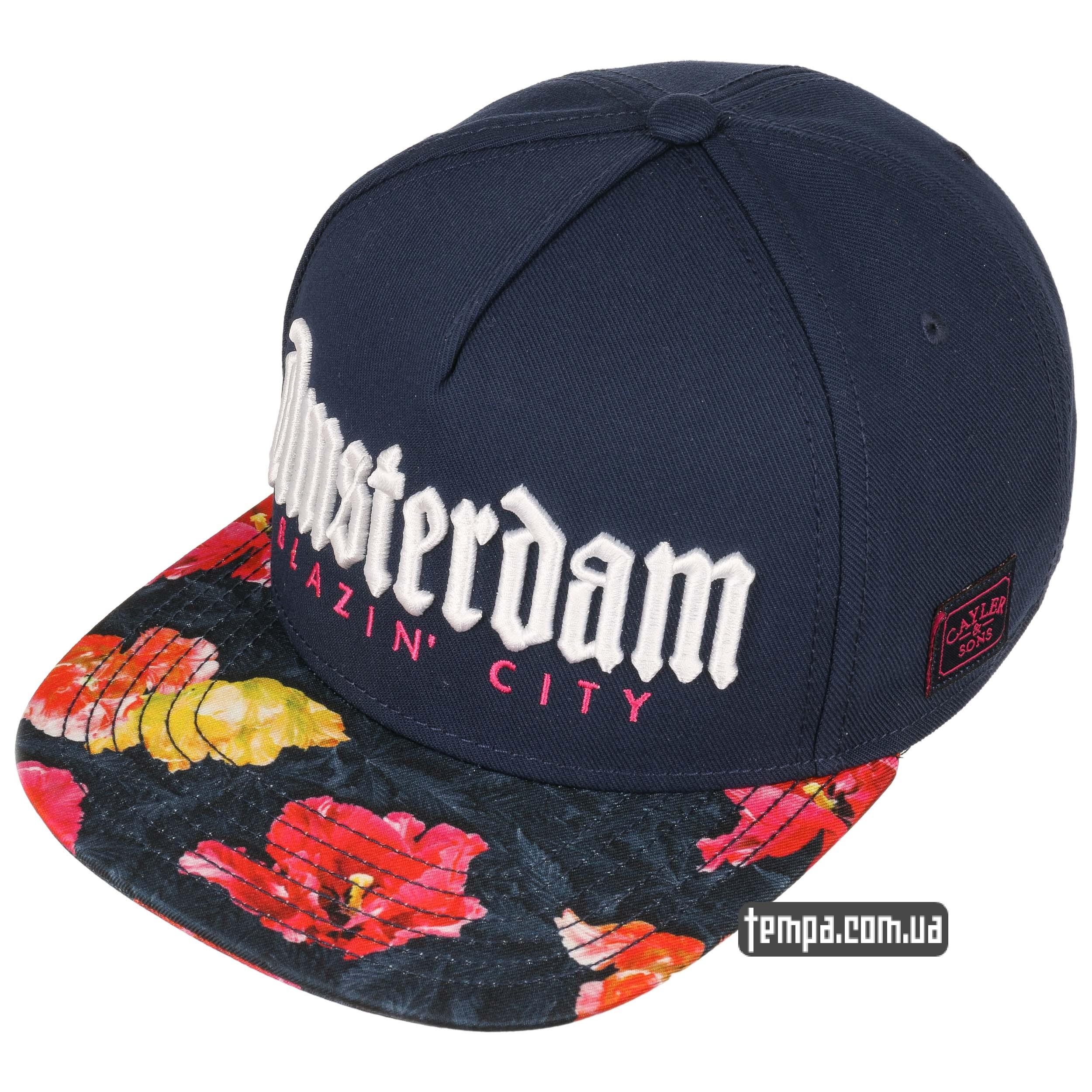 Amsterdam-Snapback-Cap-by-Cayler sons купить в Украине