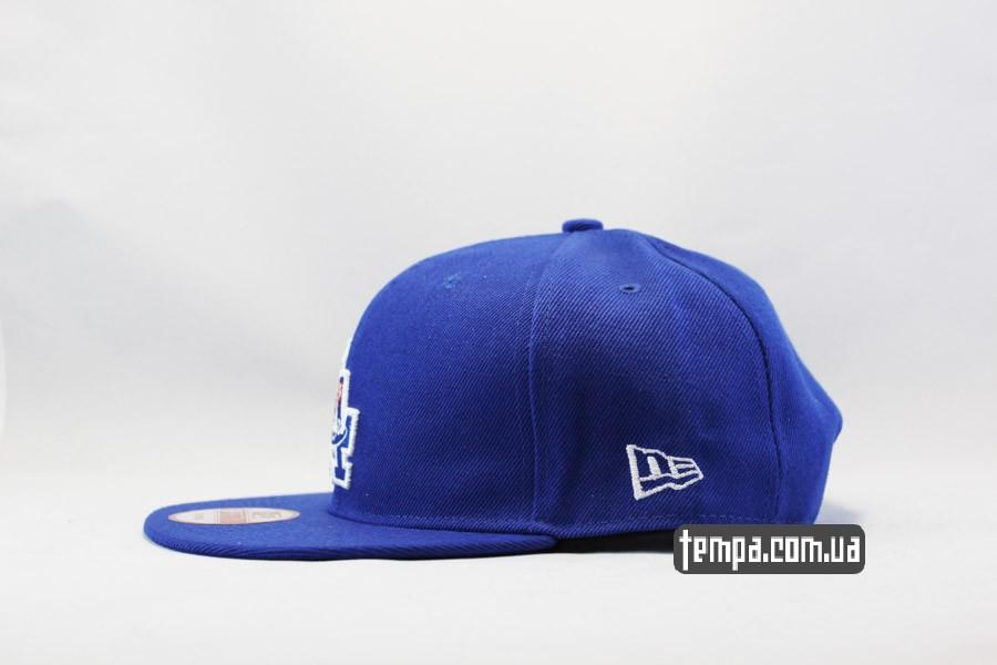 бейсболка кепка snapback LA Dodgers синяя New Era Украина