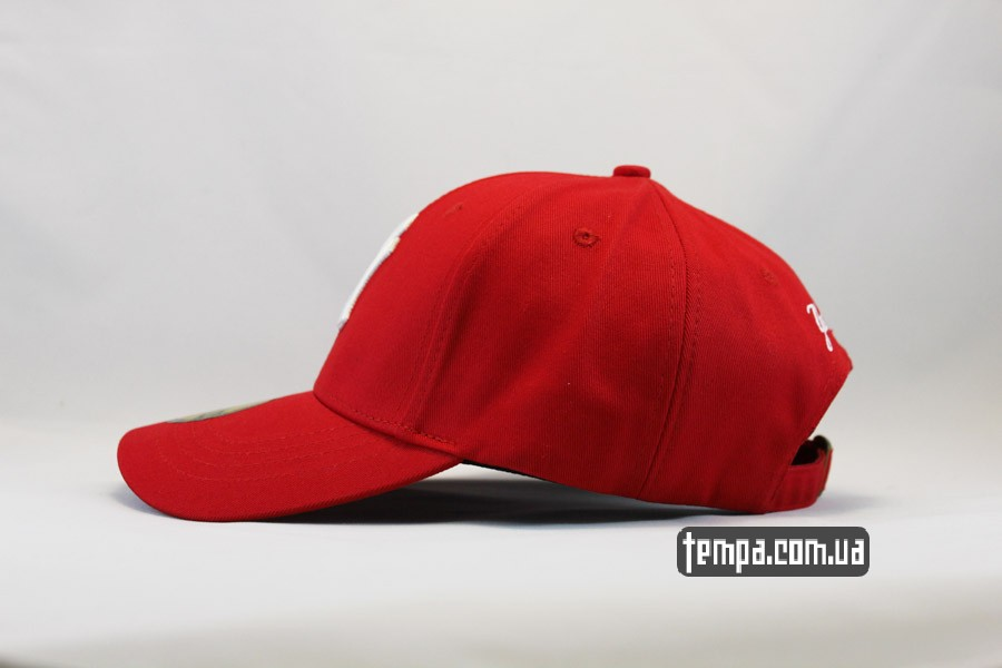 cap red кепка бейсболка snapback yankees NY New Era красная