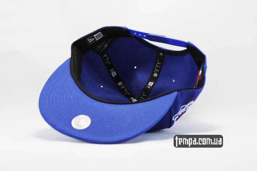 одежда New Era Los Angeles кепка snapback LA Dodgers синяя New Era Украина