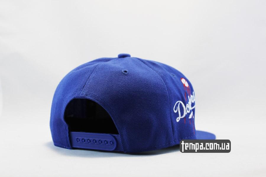 оригинал Нью Эра Украина кепка snapback LA Dodgers синяя New Era Украина