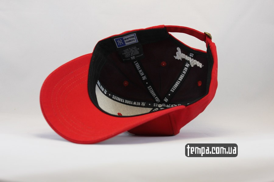 оригнал Украина Киев Одесса Харьков кепка бейсболка snapback yankees NY New Era красная