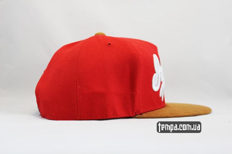 бейсболки купить кепка snapback BROOKLYN RED красная Cayler and Sons