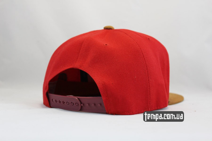 снепбеки Украина кепка snapback BROOKLYN RED красная Cayler and Sons