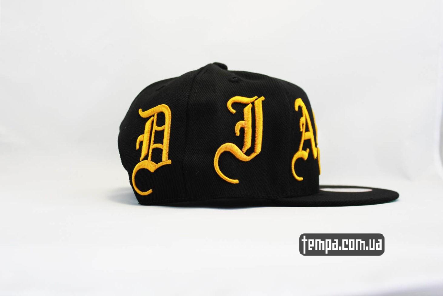 ганстерская одежда кепка snapback DIAMOND Ghetto Gangter черная