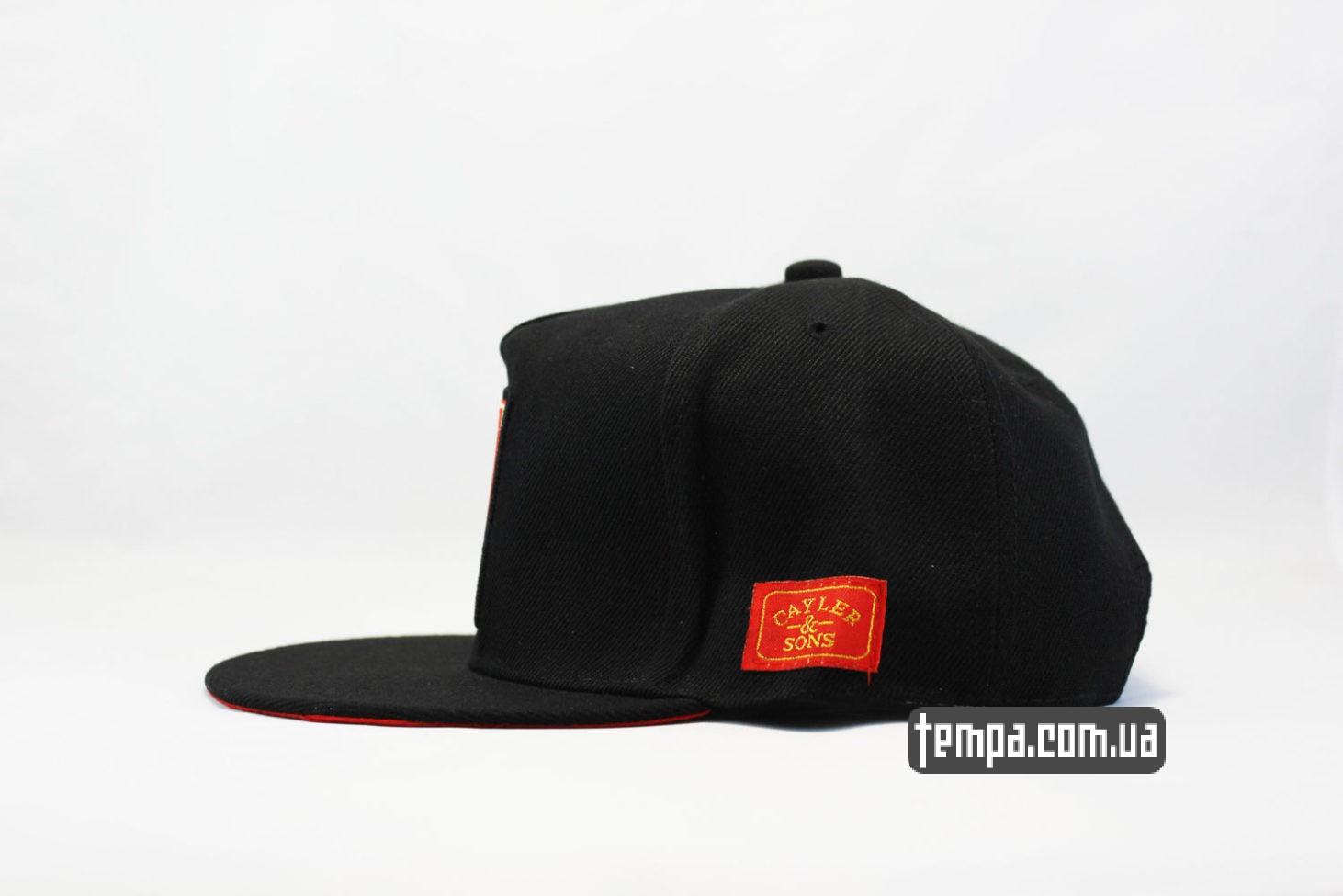 оригинальная реперская одежда кепка snapback LEGALIZE Cayler Sons купить Украина